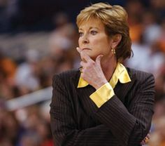 Pat Summitt Lady Vols coach